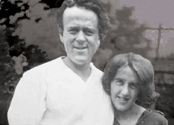 John Reed and Louise Bryant circa 1915.