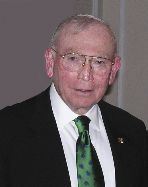 <em>General P.X. Kelley, USMC (Ret.), former commandant of the U.S. Marine Corps and Chairman Emeritus of the Irish American Partnership's board of directors gives back to his mother's native Cork City with an endowed scholarship.</em>