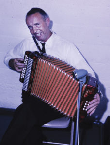Eileen's grandfather, the great accordian player Martin King from Quilty, County Clare.
