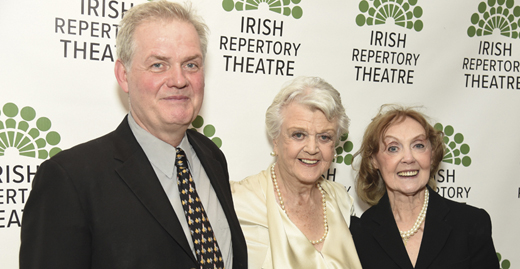 <em>Ciarán O'Reilly, Angela Lansbury, and Charlotte Moore.</em>