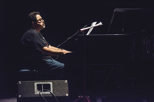Performing in Cuba at the 30th Havana International Jazz Festival in 2015.