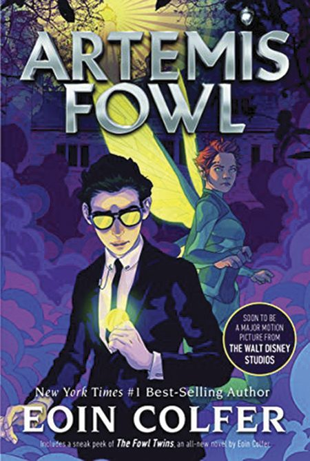 Artemis Fowl by Eoin Colfer.