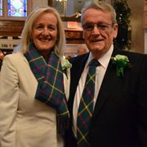Adrian Flannelly and his wife, Aine Sheridan, were recipients of the 2012 Holyoke St. Patrick's Parade Committee's Ambassador Award.