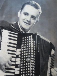 Adrian Flannelly soon after his arrival in New York.