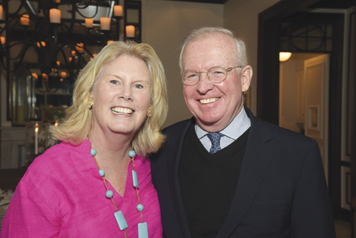 Jim and Dore Normile. Jim is a prominent New York lawyer and President-General of the American Irish Historical Society.