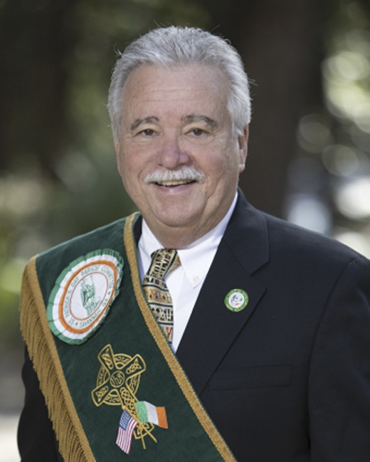 <em>Savannah's grand marshal, Jerry Counihan.</em>