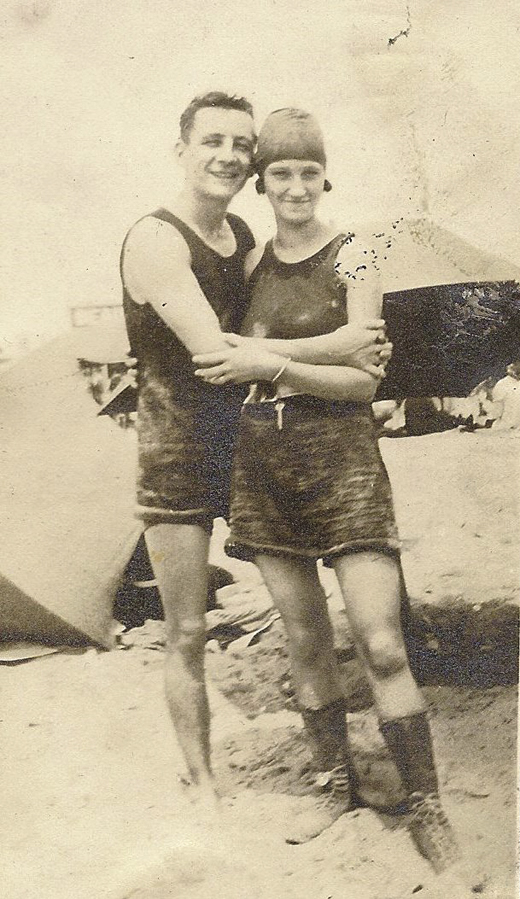 <em>Patrick Killen and Violet Johnston, Brighton Beach, NY, 1923.</em>