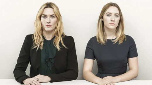 Kate Winslet and Saoirse Ronan.