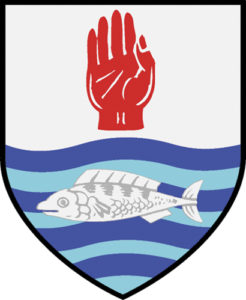 The O'Neill family crest.