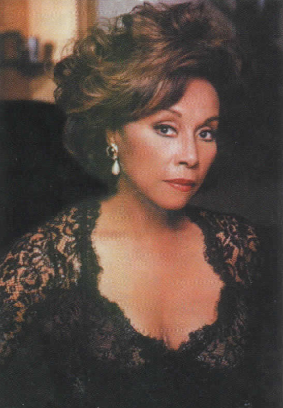 <em>Actress Diahann Carroll from her <strong>Dynasty</strong> years.</em>