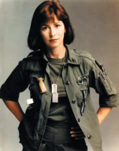 Dana Delany as Nurse McMurphy from the television series