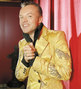 Irish Comedian, Graham Norton.