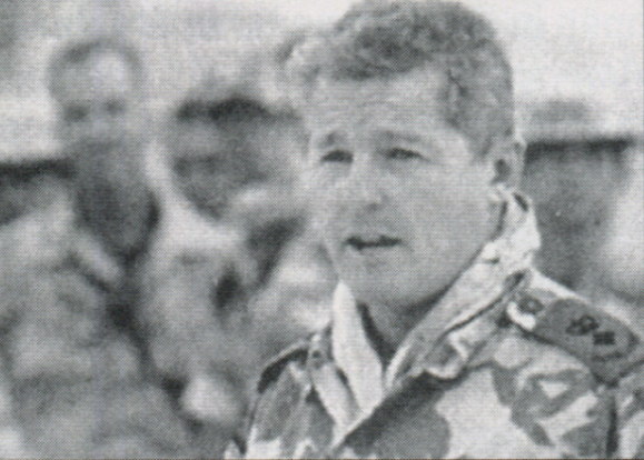 Lieutenant Colonel Tim Collins of the Royal Irish Regiment.
