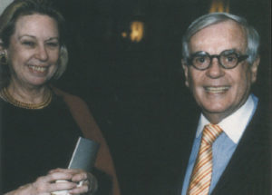 Marcia Schaffer and Dominick Dunne.