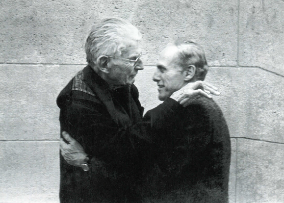 Samuel beckett and Barney Rossett.