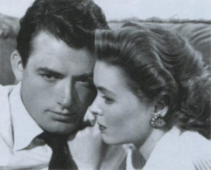With Dorothy McGuire in Gentleman's Agreement.