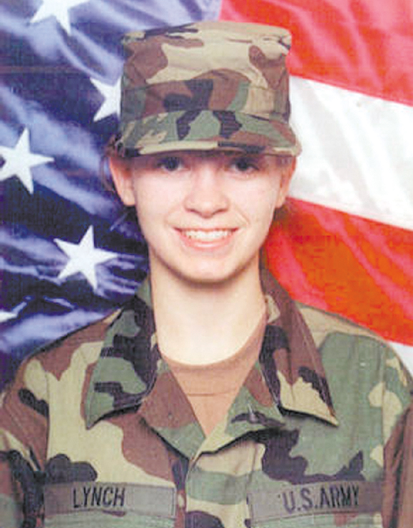 <em>Women like Private Jessica lynch are more common in today's military ranks.</em>