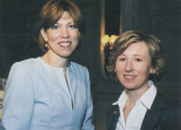 Women of Concern- Kathleen Naughton and Angela O'Neill.
