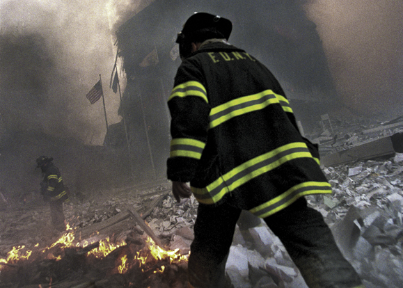 Photographer Peter Foley spent months documenting the aftermath of 9/11.