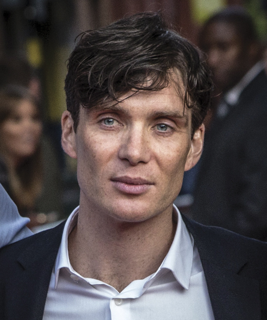 Cillian Muprhy at the Peaky Blinders premiere in Birmingham.