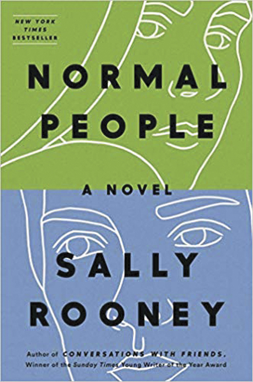 Normal People <em>by Sally Rooney.</em>
