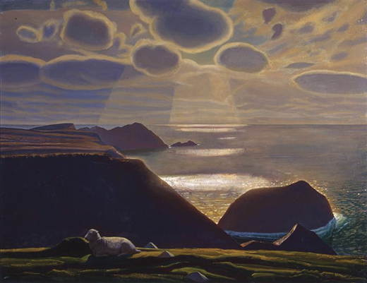 """Sturrall,"" Donegal, by Rockwell Kent, 1927."